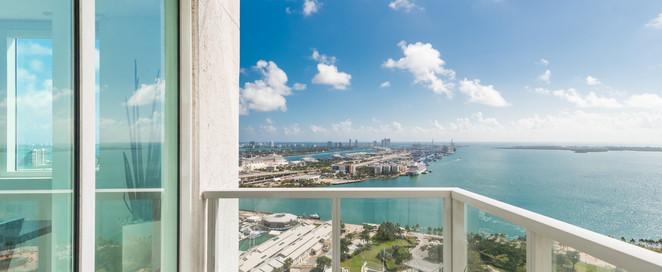 Balcony Port of Miami & Miami Beach