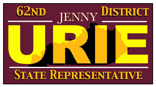 Jenny Urie for State Rep, KY, District 62 Banner.jpg