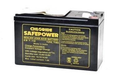 Exide CS 12 V - 7 AH SMF Battery
