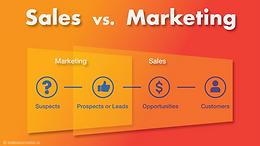 Sales vs. Marketing