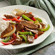 Pepper Steak/Bistec Salteado