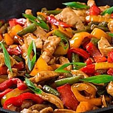 Pepper Chicken/Pechuga Salteada