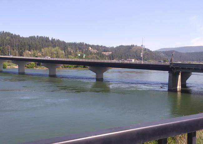 Kootenai River North Facing
