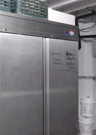 Freezers Downstairs