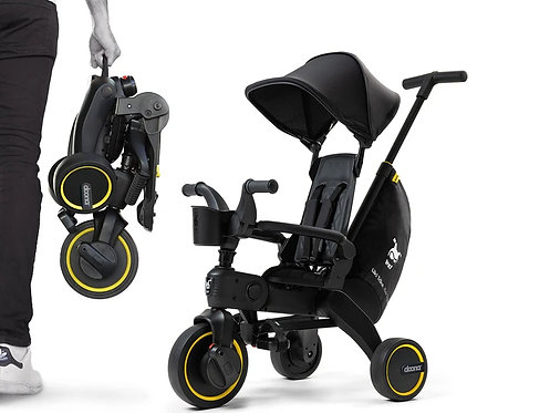 DOONA LIKI Trike Midnight  多功能三輪輕便腳踏手推車菱形車格系列