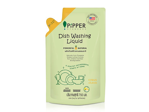 PiPPER STANDARD Dish Washing Liquid Refill, 750ml  菠蘿酵素天然器皿洗潔液補充裝