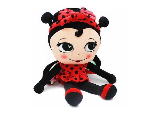 MISS NELLA Ladybird Doll  甲蟲小姐毛公仔