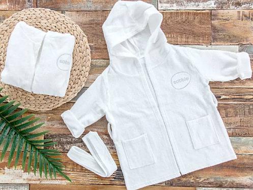 SOBBLE Bamboo Fibre Baby Bath Robe  韓國抗菌防敏竹纖維浴袍