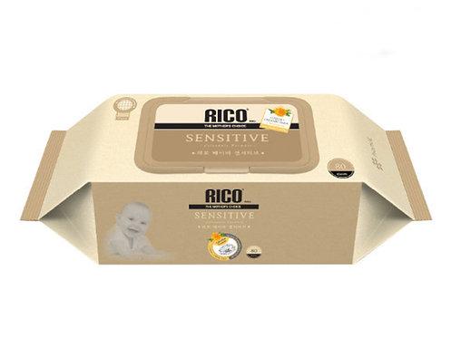 RICO Sensitive Skin Wet Wipes  韓國嬰幼兒防敏感抗菌濕巾 80片