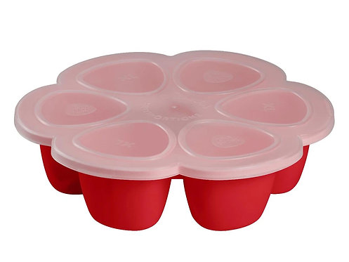 BEABA Silicone Multiportion 6x150ml  矽質花型食物儲存器
