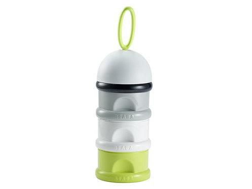 BEABA Stack Milk Powder Container Neon  奶粉分量格,綠灰