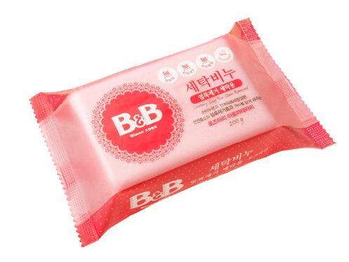 B&B Laundry Soap  嬰兒天然洗衣皂 200g