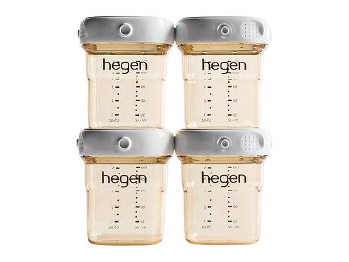 HEGEN PPSU Breast Milk Storage 150ml x4pc  PPSU多功能收納瓶150ml 4個裝