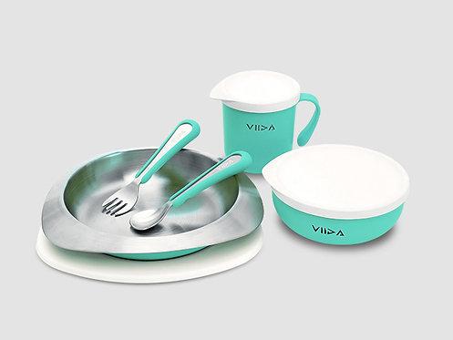 VIIDA SOUFFLE Antibacterial Stainless Steel Tableware Set  抗菌不鏽鋼餐具組