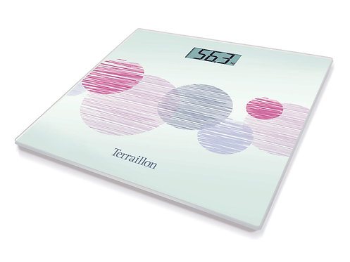 TERRAILLON Electronic Bathroom Scale TX6000  薄玻璃面板電子浴室磅秤