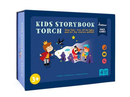 MIDEER Kids Storybook Torch  電筒故事書