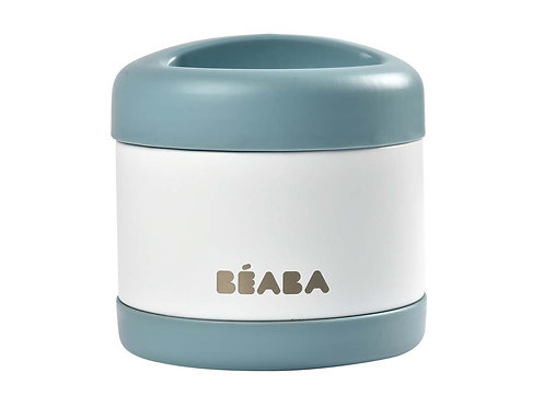 BEABA Stainless Steel Isothermal 500ml BlueWhite  不鏽鋼保溫食物儲存器500ml,藍白