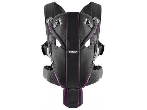 BABYBJORN MIRACLE Carrier, Black Purple  棉質揹帶,黑紫