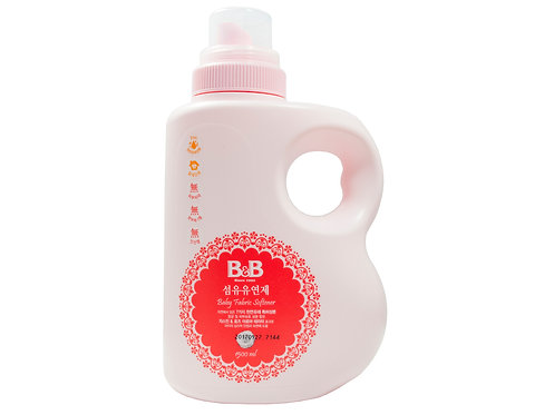 B&B Fabric Softener  嬰幼兒天然抗菌衣物柔順劑,檸檬+柚子味 1.5L