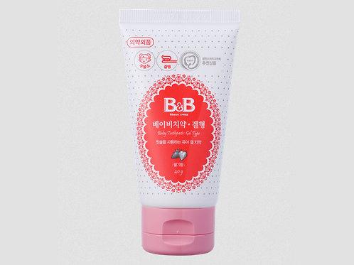B&B Oral Clean Gel  天然幼兒微泡潔齒啫喱 40g