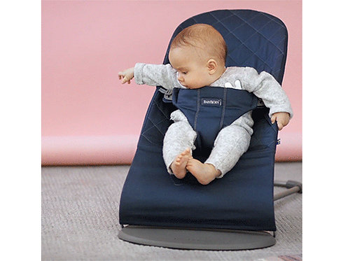 BABYBJORN BLISS Bouncer Cotton  車格棉布嬰兒搖椅