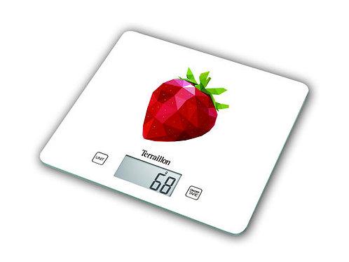 TERRAILLON Electronic Kitchen Scale, T1040   薄玻璃面板電子廚房磅