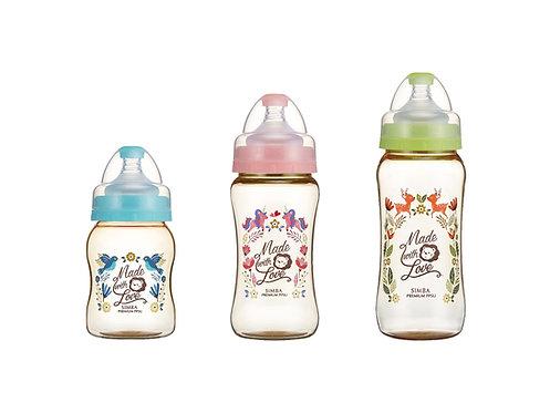 SIMBA PPSU Wide Neck Feeding Bottle 200ml/270ml/360ml  PPSU寬口葫蘆奶瓶