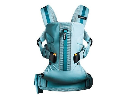 BABYBJORN ONE OUTDOOR Carrier, Turquoise  防水布料揹帶,粉藍