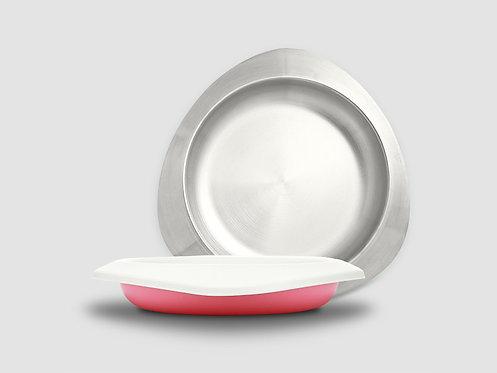 VIIDA SOUFFLE Antibacterial  Stainless Steel Plate  抗菌不鏽鋼餐盤