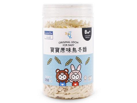 BABY J Original Udon For Baby  寶寶原味烏冬麵 250g