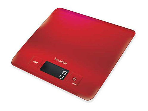 TERRAILLON Stainless Steel Electronic Kitchen Scale, Carre Inox  不鏽鋼電子廚房磅