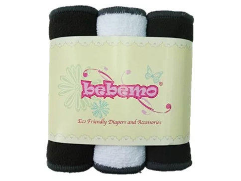 BEBEMO Dual Purpose Inserts, 3pcs  竹炭微纖抗菌兩用片芯,3條裝