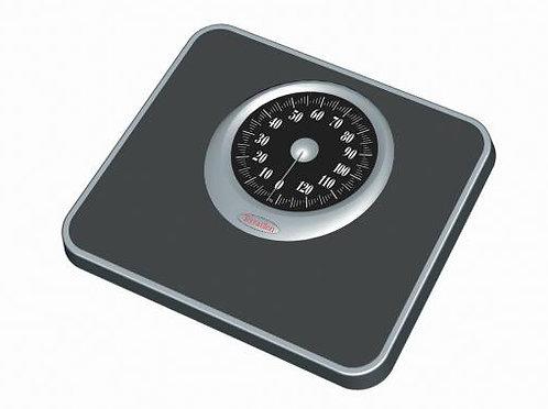 TERRAILLON Mechanical Scale T926  黑色防滑面板機械浴室磅秤