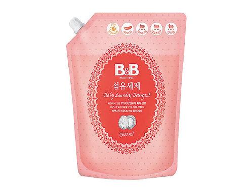 B&B Laundry Liquid Refill  嬰幼兒天然抗菌洗衣液補充裝 1.5L