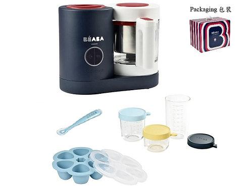 BEABA BabyCook NEO Bundle, Night Blue  多功能玻璃壺副食品調理機套裝,深藍