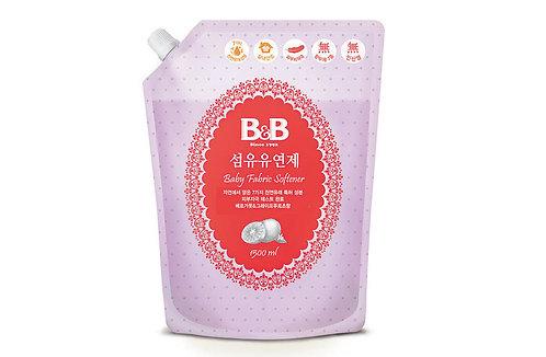B&B Fabric Softener Refill  抗菌衣物柔順劑補充裝,檸檬+柚子味 1.5L
