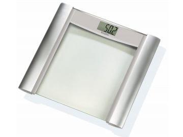 TERRAILLON Glass Electronic Bathroom Scale, TX800  銀色邊玻璃面板電子浴室磅秤