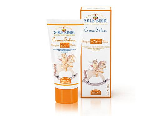HELAN Sole Bimbi Sun Care Cream SPF25 嬰兒防曬霜SPF25,75mL