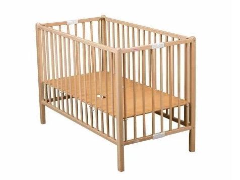 COMBELLE Folding Beechwood Cot  法國經典實心櫸木嬰兒摺床 60x120cm