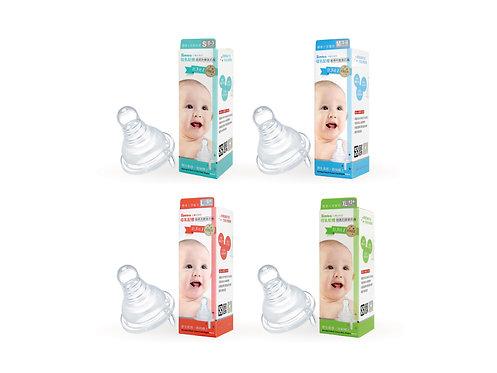 SIMBA Feeding Bottle Nipple 4pc  母乳超柔防脹氣奶嘴 4入