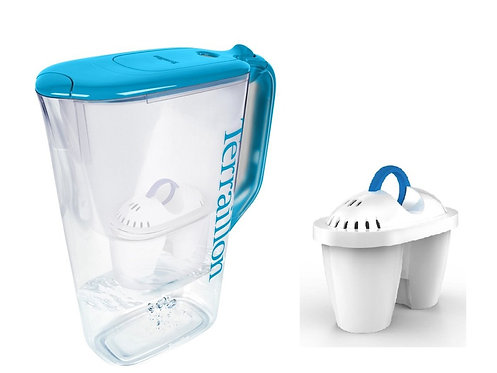 TERRAILLON Water Filter Jug Set, Domin'o POP  2.2公升濾水壺連3個濾芯