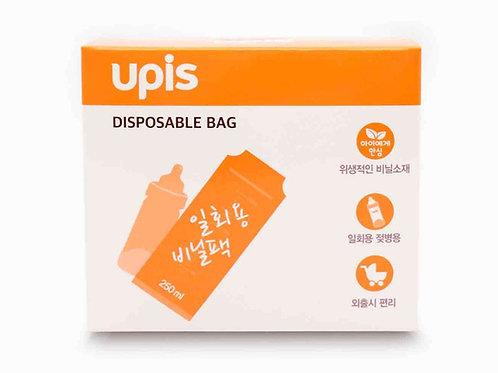 UPIS Disposable Bottle Bag  拋棄式奶瓶專用奶袋 60個