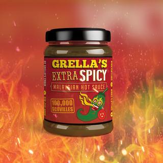 Label Produk - Grella's