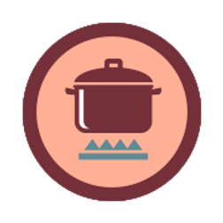 Campfire Cooking Badge