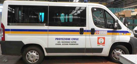 Pulmino Protezione Civile