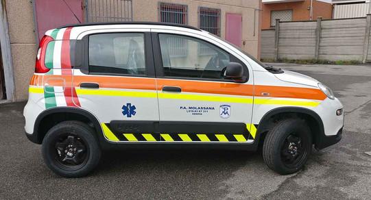 Automedica Fiat Panda