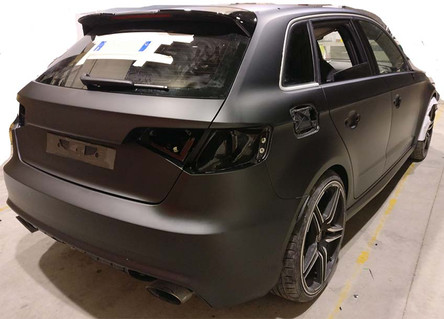 Audi RS3 by ABT - Nero opaco 3M