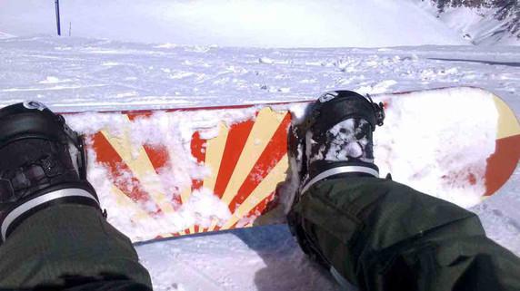 Snowboard test tenuta