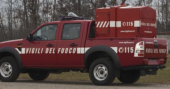 Ford Ranger con proiettore VVF