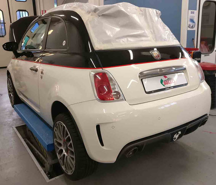 Wrapping Abarth 595